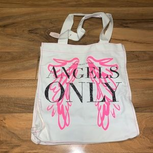 😱 WOMENS VICTORIA'S SECRET ANGELS ONLY TOTE BAG
